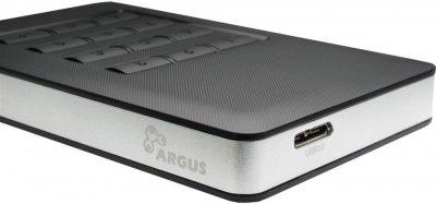 "Зовнішня кишеня Argus для HDD 2.5"" SATA III — USB 3.0 (GD-25LK01)"