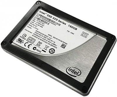 SSD Intel INTEL 320SERIES 160GB 3G 2.5 INCH MLC SATA SSD (E75402-601) Refurbished