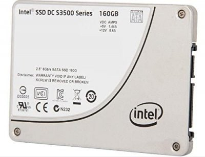 SSD Intel INTEL 160GB S3500 SERIES 2.5 INCH MLC SATA SSD (G99035-202) Refurbished