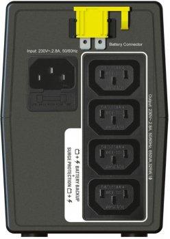 Блок безперебійного живлення APC Back-UPS 650VA IEC (BX650LI) (4роз., 650ВА/325Вт, резервний)