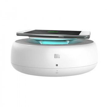 Bluetooth колонка Nillkin COZY MC2 с беспроводной зарядкой (QC 2.0) Original White