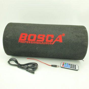"""Колонка беспроводная Сабвуфер 6"""" Bluetooth FM 12В и 220В 600W BOSCA черная"""