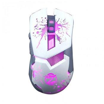 Игровая компьютерная мышь проводная с подсветкой Zornwee Z 42 White