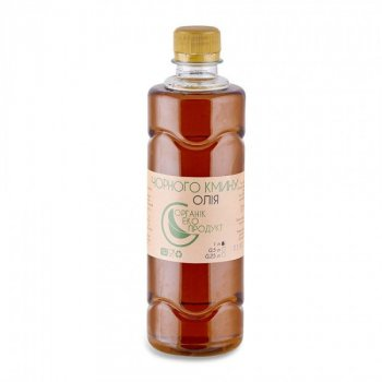Масло черного тмина холодного отжима Organic Eco-Product, 1000 мл
