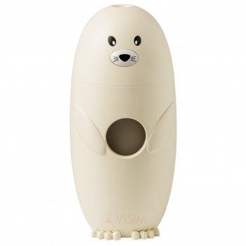 Детский мини-увлажнитель воздуха ароматизатор USB Морской Котик LED диффузер ночник 250 мл Желтый