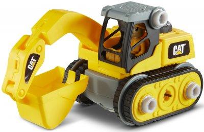 Игрушка-конструктор Funrise CAT Machine Maker Экскаватор 20 см (80903F) (021664809037)