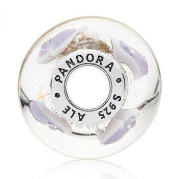 Шарм Мурано Pandora style Щедрые сердца 796599CZ
