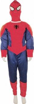 Костюм Seta Decor Spider-Man Детский 17-329L 122-128 см Красный с синим (2000044773012)