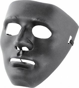 Маска Seta Decor Черное Лицо 15-58BLK Черная (2000047606010)
