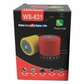 Портативна Bluetooth колонка Wester WS-631 Green (2_000622)