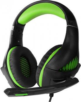 Наушники Crown Gaming Headset 7.1 CMGH-2102 Green