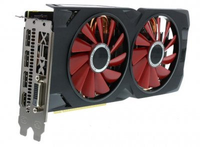 Видеокарта XFX Radeon RX570 4Gb 256bit DDR5 DVI HDMI DPort Refurbished