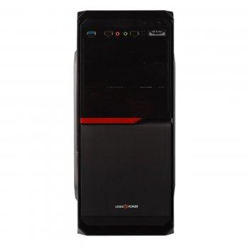 Корпус Logicpower 2011-400W 8см, 2хUSB2.0, 1xUSB3.0, Black