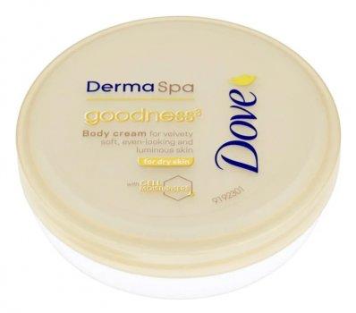 Dove DermaSpa Goodness крем для тіла для ніжної і гладенької шкіри, 75 мл