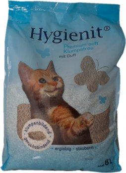 Наполнитель для кошачьего туалета Pretty Cat Hygienit Premium с ароматом детской присыпки Бентонитовый комкующий 8 л (9003459602130)