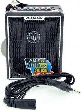 Радиоприемник X-Bass-047U, Портативное радио, Портативный динамик, ФМ радио, ФМ приемник