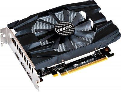INNO3D PCI-Ex GeForce GTX 1650 D6 Compact 4GB GDDR6 (128bit) (1410/12000) (HDMI, 2 x DisplayPort) (N16501-04D6-1177VA19)