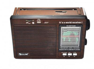 Радіоприймач RX-9977 GOLON 11 каналів