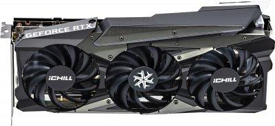 INNO3D PCI-Ex GeForce RTX 3060 Ti Ichill X3 Red 8GB GDDR6 (256bit) (1725/14000) (3 x DisplayPort, HDMI) (C306T3-08D6X-1671VA39)