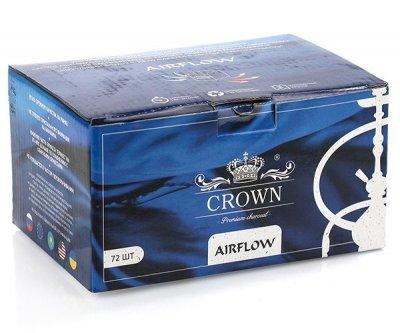 Уголь для кальяна Crown Air flow Кокосовый 1 кг (813984)