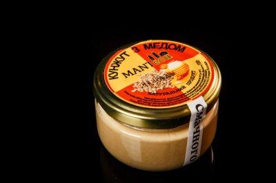 "Кунжутна паста ""Manteca"" з медом 100г (10010)"