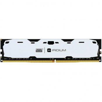Модуль пам'яті для комп'ютера DDR4 8GB 2400 MHz Iridium White GOODRAM (IR-W2400D464L15S/8G)