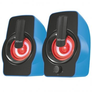 Акустична система Trust Gemi RGB blue USB (22978)