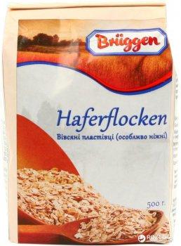 Упаковка пластівців Bruggen вівсяних Особливо ніжні 500 г х 20 шт. (4008713706857)