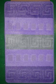 Килим CONFETTI BUTAN BQ 8862 pc2 0.6 x 1.5 m Фіолетовий Прямокутник