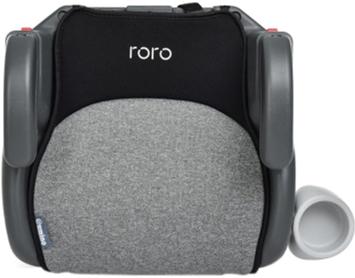 Бустер El Camino Roro Isofix ME 1144 22-36 кг Dark Grey (ME 1144 RORO ISO d.grey)