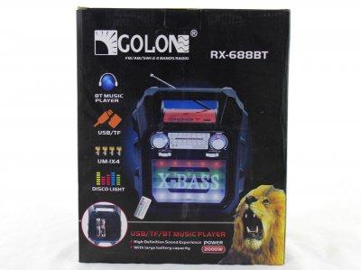 Радиоприемник Golon RX-688 BT (BS2598)