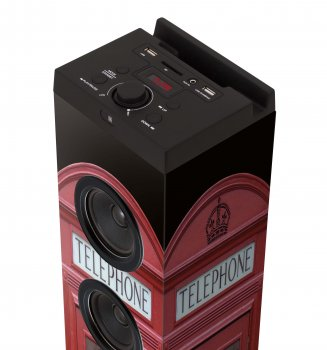 Колонка мультимедийная Bigben Telephone box