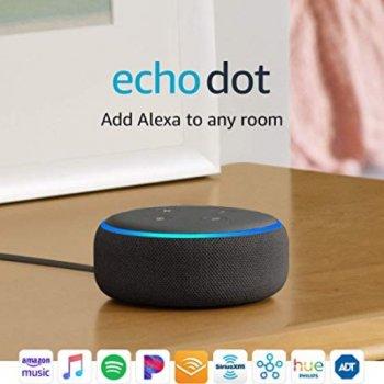 Розумна колонка Amazon Echo Dot (3rd Generation) Charcoal