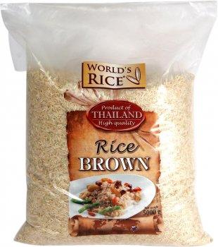 Рис World`s Rice Натурал 5 кг (4820009102637)