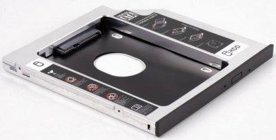 """Кишеня-адаптер Agestar для HDD 2.5"""" для ноутбука у відсік CD-ROM 9.5 мм (SSMR2S-1A)"""