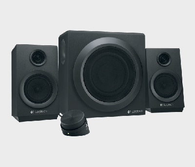 Акустична система Logitech Z333 Black (980-001202)