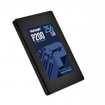 "Накопичувач SSD 256GB Patriot P200 2.5"" SATAIII TLC (P200S256G25)"