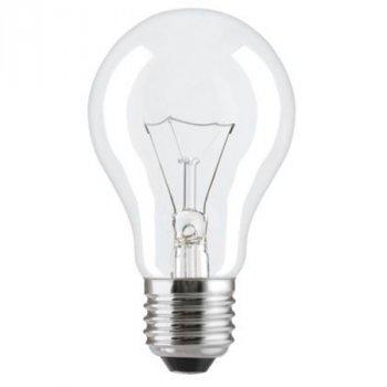 Лампа розжарювання 75А1/CL/E27 240V прозора GE Угорщина