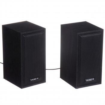 Колонки для ПК компьютера Music-F D092 Black (6749)
