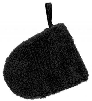 Рукавичка-спонж для снятия макияжа Red Point Mitten Soft Черная (КР.01.Т.01.57.000)