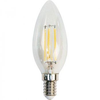 "Лампа світлодіодна C35 4W E14 4LED 3000K 230V свічка ""LEMANSO"" LM392"