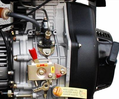 Генератор Hyundai DHY6000LE-3 Дизель
