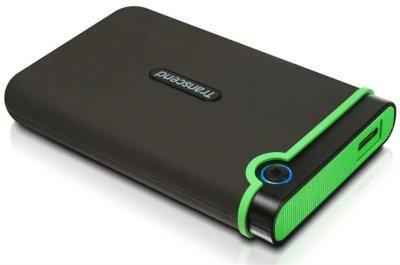 """Накопичувач зовнішній HDD 2.5"""" 500Gb USB Transcend StoreJet 25M3S Iron Gray (TS500GSJ25M3S)"""