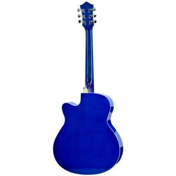 Акустическая гитара Tayste T-401 синий (T-401BL)