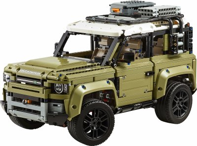Конструктор LEGO TECHNIC Land Rover Defender 2573 детали (42110)