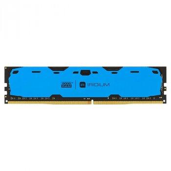 Оперативна пам'ять GOODRAM 8 GB DDR4 2400 MHz Iridium Blue (57477642)