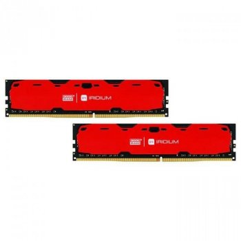 Оперативна пам'ять GOODRAM 8gb (2x4GB) DDR4 2400 MHz Iridium Red (7800744)