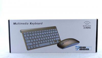 Клавіатура KEYBOARD + Мишка wireless 908 Apple