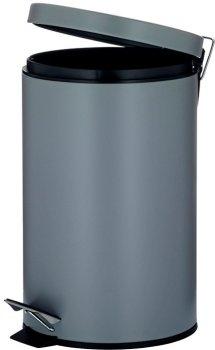 Відро для сміття KELA Leandro 12 л (10933) сірий металік