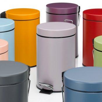 Відро для сміття KELA Monaco 3 л (24294) фіолетовий металік